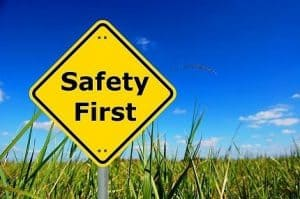 Safe procedures protecting patients and staff
